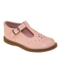 Love this Pink Sherry T-Strap Shoe by FootMates on #zulily! #zulilyfinds