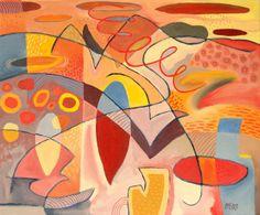 Abstract: Summer's Divine Gold | Trevor Pye