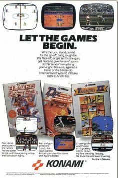 Konami games for NES