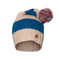 AO76 large stripes hat in beige | Scandi Mini