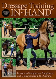 """""""Dressage Training In-Hand"""" is a solid book, information-wise, that could be stronger than it already is with a little polishing. Kathrin Roida's """"Dressage. Horse Exercises, Horse Books, Equestrian Outfits, Equestrian Style, Equestrian Fashion, Horse Fashion, English Riding, Horse Training, Horseback Riding"""