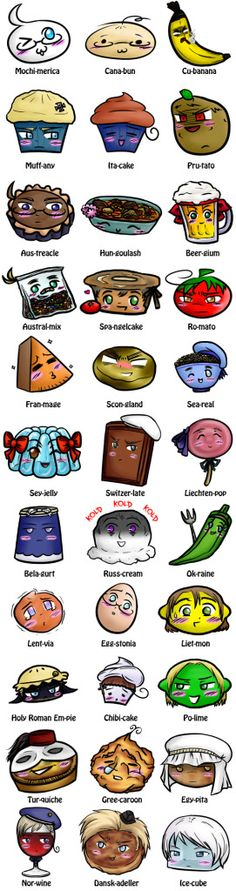 Hetalia! My favorite is Pru-tato... but they forgot Canada *-*