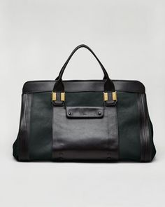 Alice Satchel Bag, Fir Green by Chloe at Neiman Marcus.