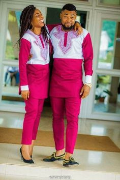 Couples African Outfits, African Dresses Men, African Clothing For Men, African Shirts, Latest African Fashion Dresses, Couple Outfits, African Print Fashion, African Wear, African Attire