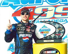 cool AUTOGRAPHED 2005 Jeff Gordon #24 Pepsi Shards Racing TALLADEGA WIN (Aarons 499) Victory Lane 8X10 Signed Picture NASCAR Glossy Photo with COA