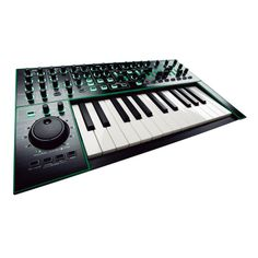 Roland Aira System-1. This thing acts as a synth in its own right, but also allows you to load it with special Roland plug-ins that model some of their classic synths (e.g. the SH-101). #roland #aira #system1 #synth