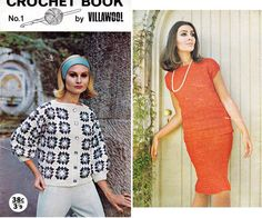 1960s Vintage Crochet Patterns Booklet by allthepreciousthings