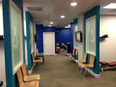 Family Fist Chiropractic: Dr. Cliff Fisher Chiropractic Office Design, Chiropractic Wellness, Wellness Spa, Future Office, Waiting Rooms, Family First, Cliff, Fisher, Baby
