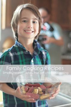 Simple, healthy recipes that get children cooking    A new video series from Coryanne Ettiene
