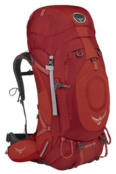 Osprey Xena 70 Backpack (Ruby Red - SM) >> Huge discounts available : Womens hiking backpack