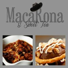 MacaRona and Sweet Tea: Cowboy Soup with Caramel Pretzel Bites on the side
