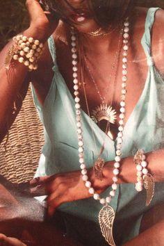 Sautoirs Tiki Sun Freedom Légende perles - partenaire Charm´s on the City Abidjan www.tikisun.fr