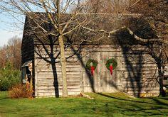 christmas barn by Alida's Photos, via Flickr