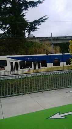 Northbound Orange Line Train