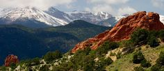 Pikes Peak, Colorado Springs, CO  Pretty views. A lot of fun. I love this place.