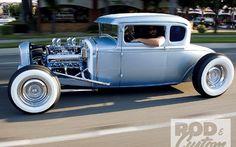 1931 Ford Model A 5-window Coupe Hi-boy