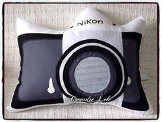 Almofada Personalizada Maquina Fotográfica