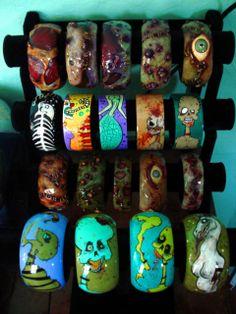 zombiehead.etsy.com zombie art,horror art,