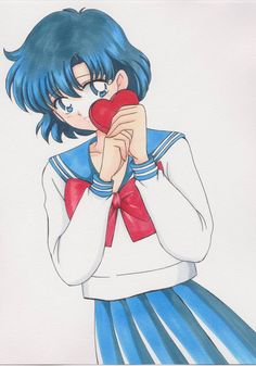 Ami Mizuno (Sailor Mercury)  #Sailormoon