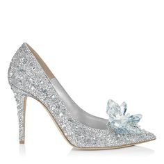 Crystal Covered Pointy Toe Pump 'Cinderella Slipper' | Cinderella | Exclusive | JIMMY CHOO