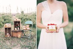 Favors by October Ink - Berry Patch Wedding - Green Apple Photography   www.OctoberInk.com
