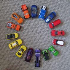 Car Color Wheel