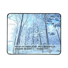 Nicedesigned Custom Beach Mats Religion Quote Bible Verses Beach Blanket Hiking Travelling Camping Mats 78 x 60 Cloth Table *** Find out more about the great product at the image link.