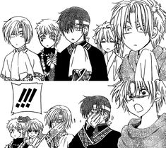Look at their faces! Look at Jea-ha and Kija and oh my god they're going to cry! And then there's Shin-ah and Zeno and I just can't!