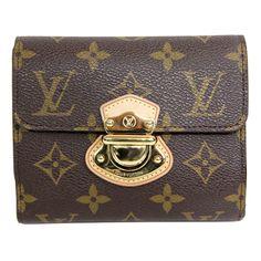 MODASELLE - Louis Vuitton Monogram Joey Wallet, CAD $650.00 (http://www.modaselle.com/louis-vuitton-monogram-joey-wallet/)