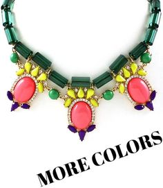 Electic Statement Necklace