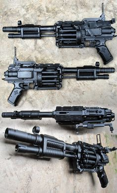 Furyfire 2 by ~GeorgeBenta on deviantART Airsoft Guns, Weapons Guns, Guns And Ammo, Rifles, Nerf Mod, Custom Guns, Firearms, Shotguns, Weapon Concept Art