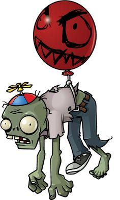 Halloween Costume How-To: Balloon Zombie Zombies Vs, Plants Vs Zombies 2, P Vs Z, Zombie Birthday Parties, Birthday Ideas, Plantas Versus Zombies, Zombie Disney, Zombie Art, Ideas Party