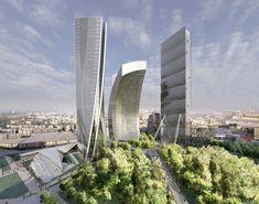 Em progresso: City Life Milão/ Zaha Hadid Architects