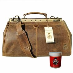 Natural Leather, Brown Leather, Shoulder Pads, Designer, Baron, Antiques, Stylish, Handle, Stuff To Buy