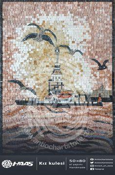 #kızkulesi #Mosaic #Natural #Stone #Handmade . . #mozaik #doğal #taş #El_yapımı . .