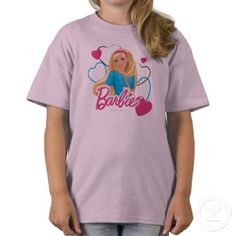 Barbie Hearts T-shirt - Happy Birthday to Barbie