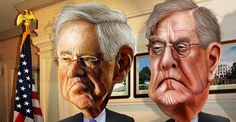 The Koch brothers like looking all philanthropic, but we all know there's a HUGE catch to anything like this.