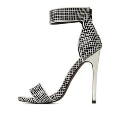 Privileged for CR Checkered Dress Sandals