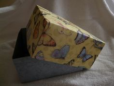 Handmade box to hold small gift cards