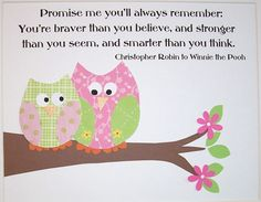 I love inspirational wall art! This one's from etsy.com.  Just beautiful!