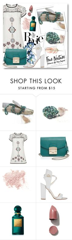 """True Nature Jewelry 6"" by fashionmonsters ❤ liked on Polyvore featuring Topshop, Whiteley, Furla, Bare Escentuals, Paul Andrew and Tom Ford"