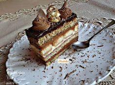 Receptek, és hasznos cikkek oldala: Paprikajancsi szelet Cream Cheese Flan, Hungarian Recipes, Tiramisu, Cheesecake, Food And Drink, Dessert Recipes, Cooking Recipes, Treats, Cookies