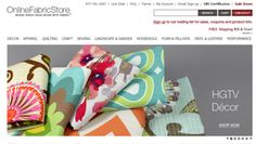 Online Fabric Store