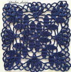 Tina's handicraft : 36 patterns for sconces Crochet Motifs, Crochet Blocks, Granny Square Crochet Pattern, Crochet Flower Patterns, Crochet Mandala, Crochet Stitches Patterns, Doily Patterns, Crochet Squares, Crochet Granny