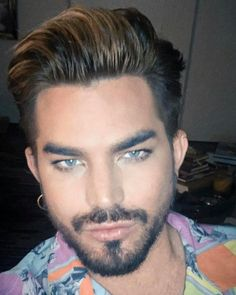 Adam Lambert, Pretty Men, Hello Gorgeous, Perfect Man, Sexy Men, Beautiful People, Singer, Twitter, Hair Styles
