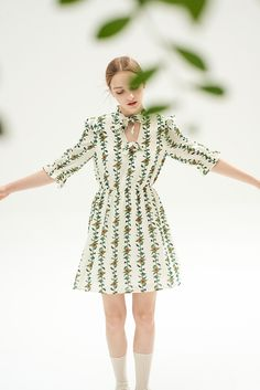 Tree of Heaven Dress - Miss Patina - Vintage Inspired Fashion