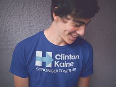 Clinton Kaine -- Stronger Together https://teespring.com/ClintonTimStrongerTogether?DEC2016