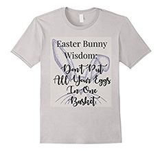 Amazon.com: Easter Bunny Funny Cute Holiday T-Shirts: Clothing