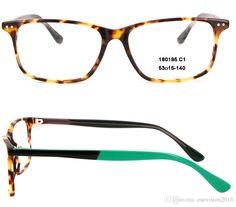 8738fbb9acd3 New Arrival 2017 Fashion Women Men Rectangle Eyeglasses Frames Designer  Light Frame Full Rim Acetate Optical