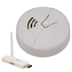 KJB Security C1253 Wireless Bottom View Smoke Detector Camera ** Continue to the product at the image link.